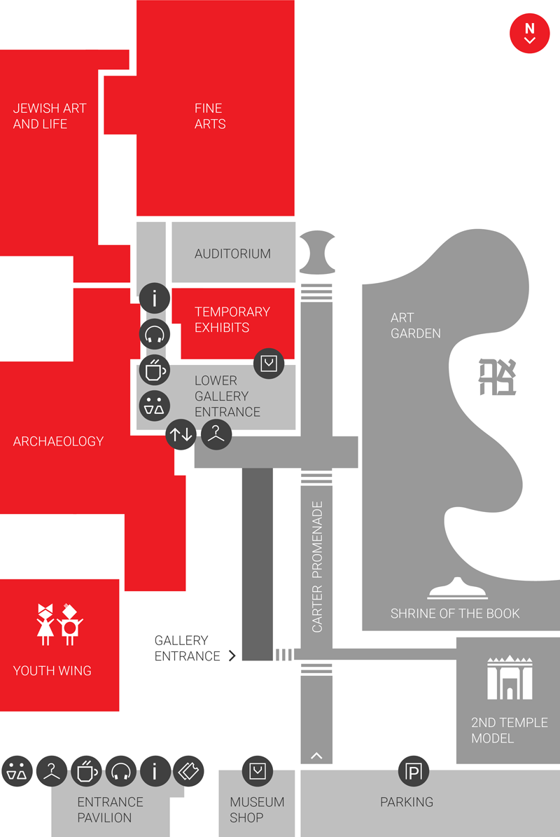 Museum Gallery Map
