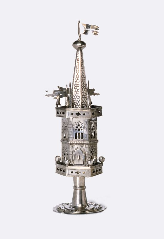 Tower-shaped spicebox