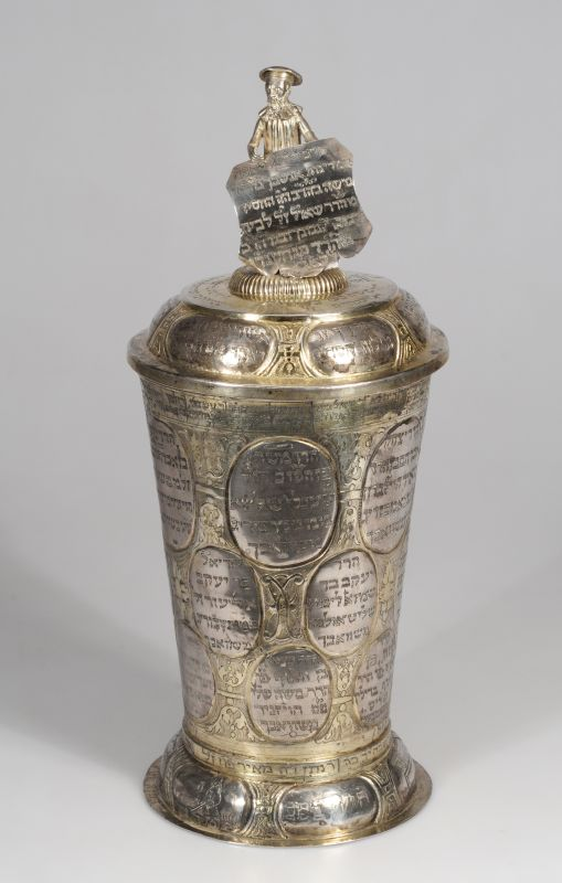 Goblet for the Schwabach Burial Society banquet