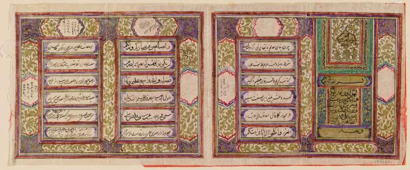 חוזה נישואין מוסלמי של זוג מאנוסי משהד