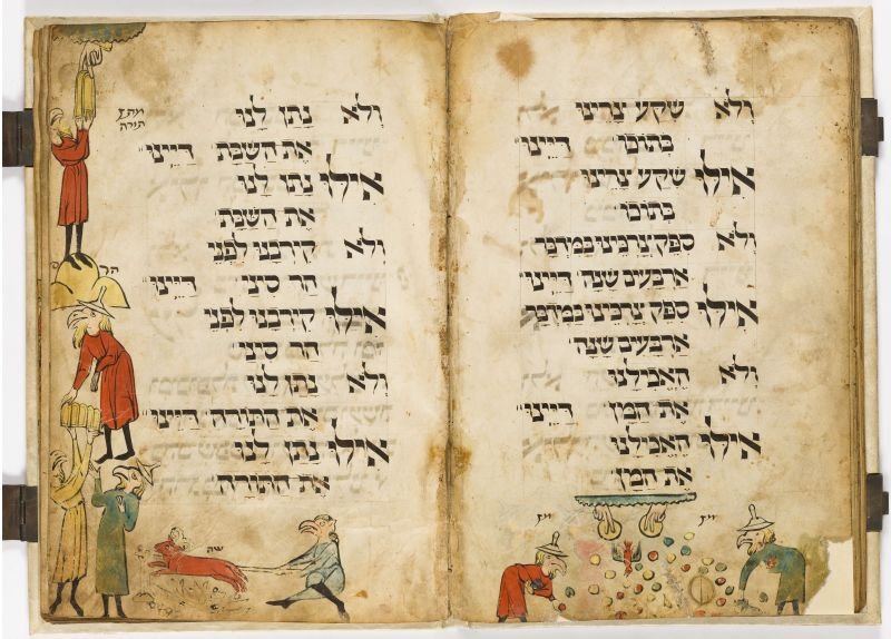 The Birds' Head Haggadah