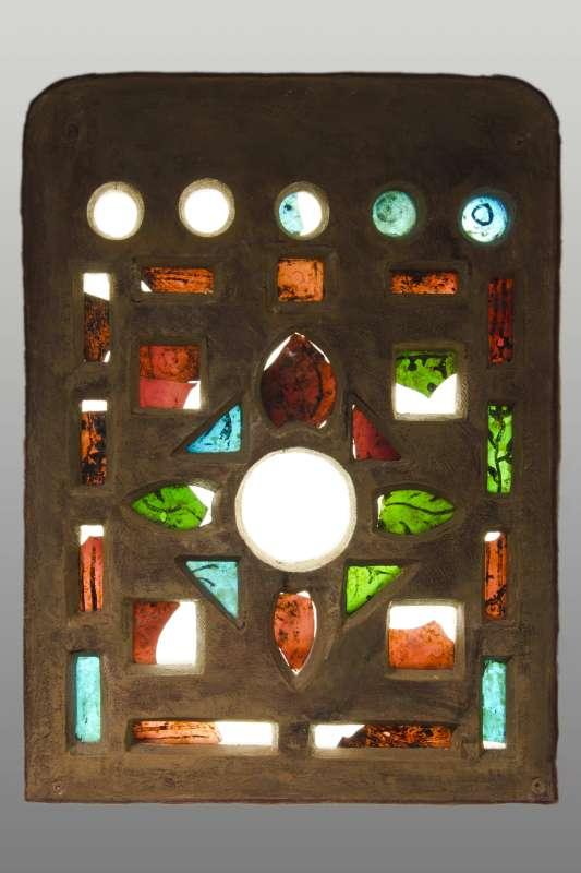 Reconstructed windows from Khirbet al-Mafjar