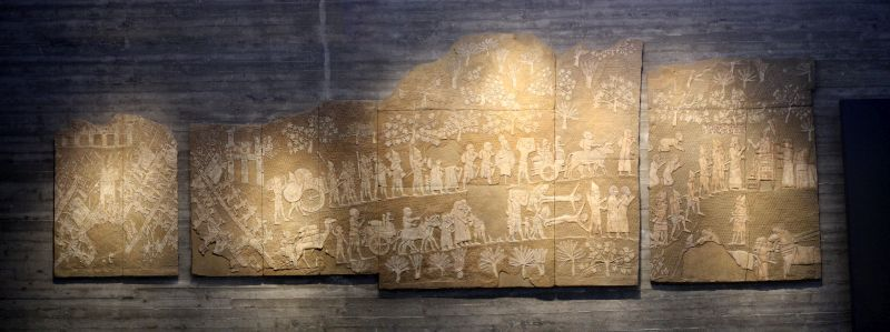 Lachish relief (replica)