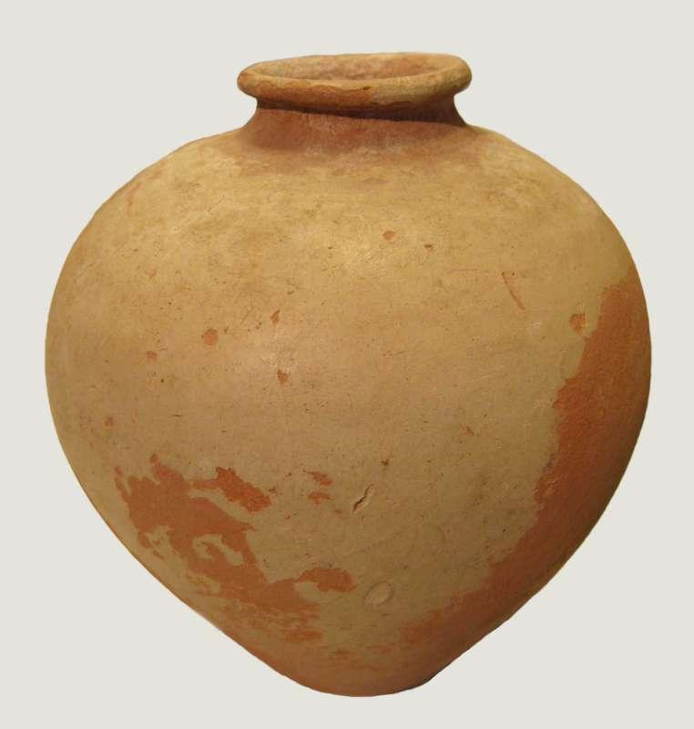 Globular jar, perhaps for perfume, from Egypt