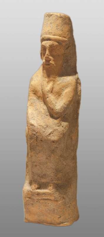 Statuette of a Deity wearing a Phoenician-style hat