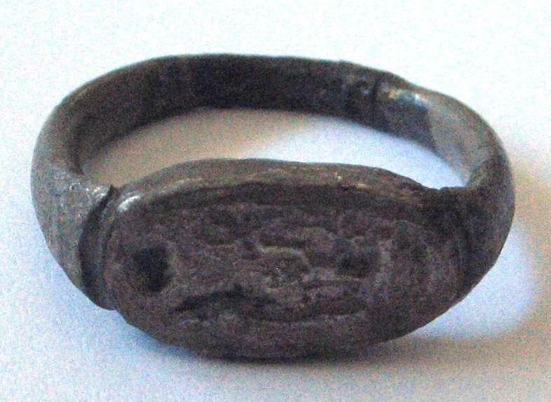 טבעת נושאת את שמו של אָמֶנְחוֹתֶפּ השלישי