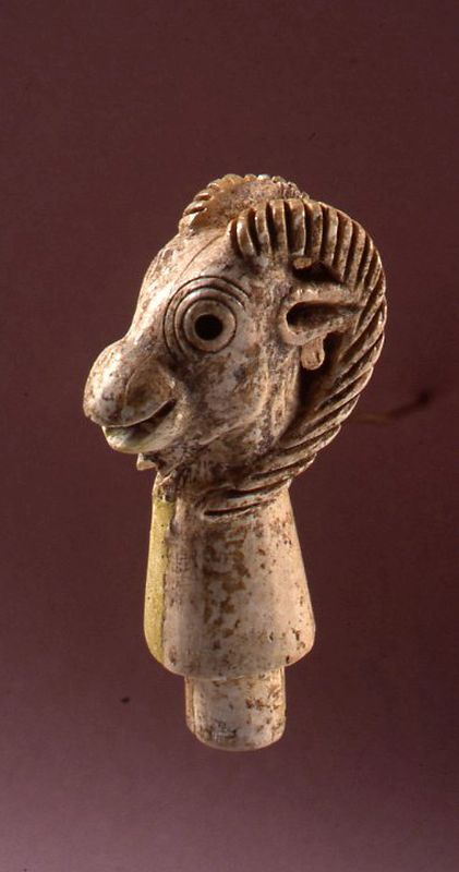 Ibex-shaped stopper