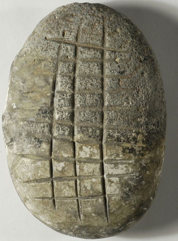 Engraved pebble