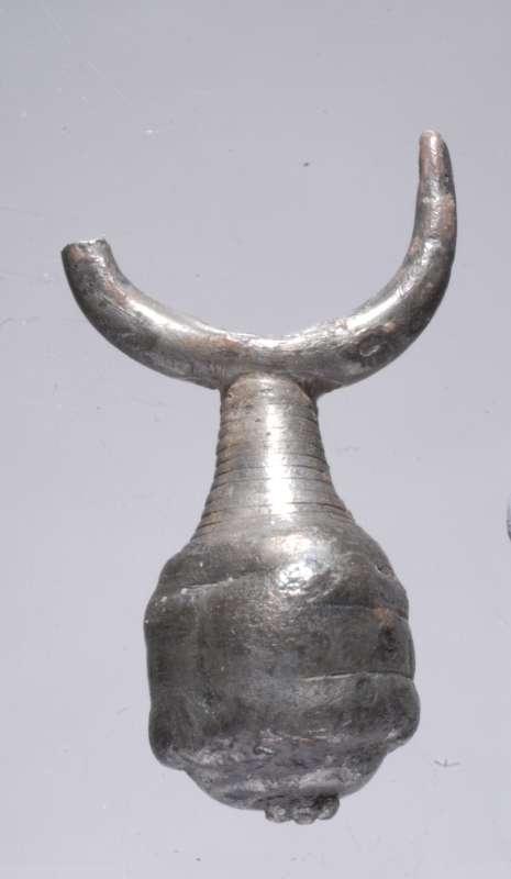 Earring from silver hoard