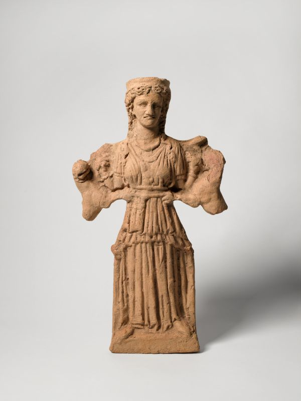 Antefix or central relief depicting Artemis