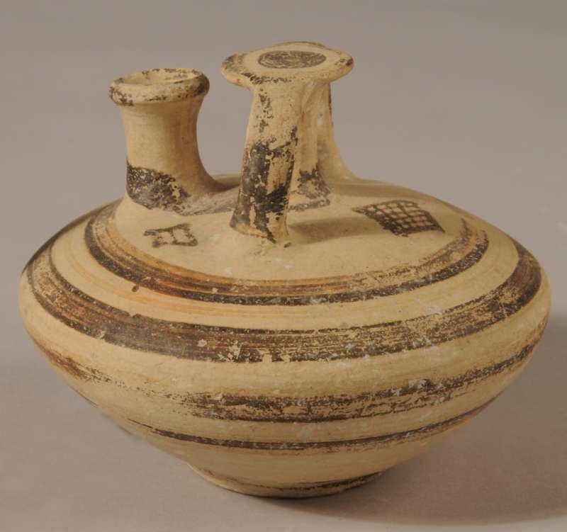Imported Aegean stirrup jar