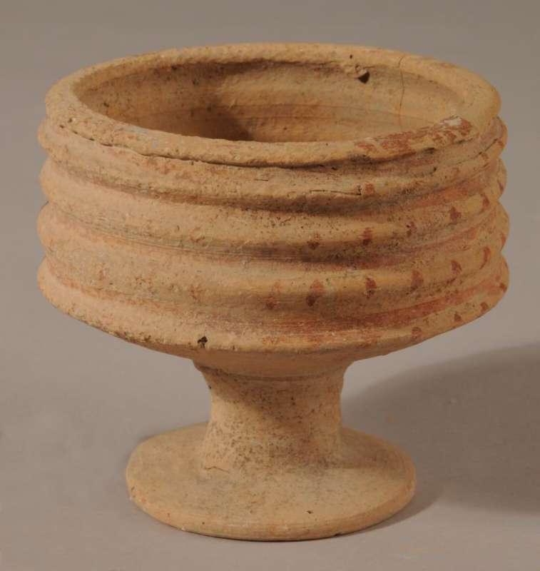 Egyptian-style goblet (<i>tazza</i>)