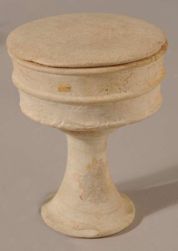 Egyptian goblet (<i>Tazza</i>) with cover