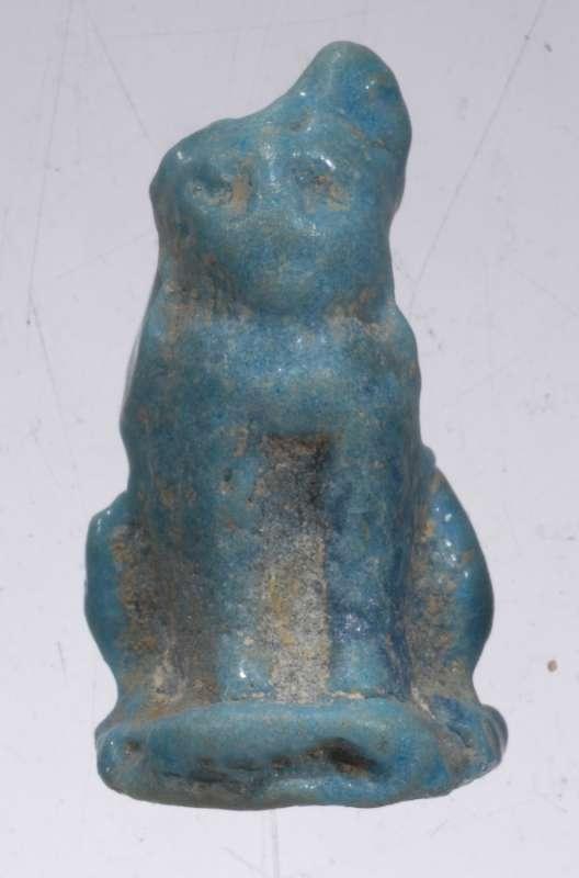 Egyptian lion-shaped amulet