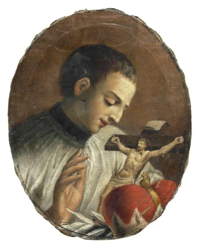 Clergyman Holding a Crucifix