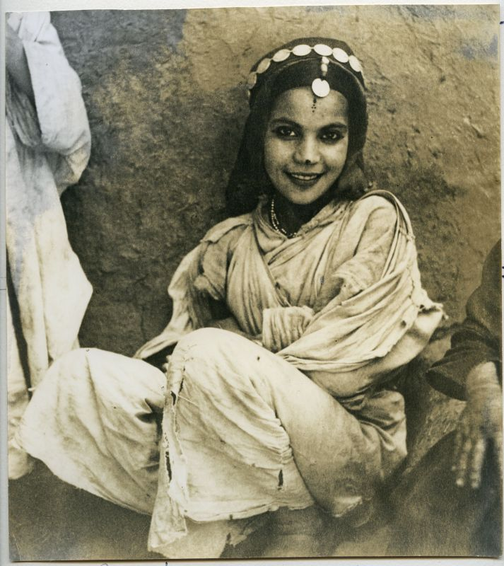 A young girl from the Todra Valley