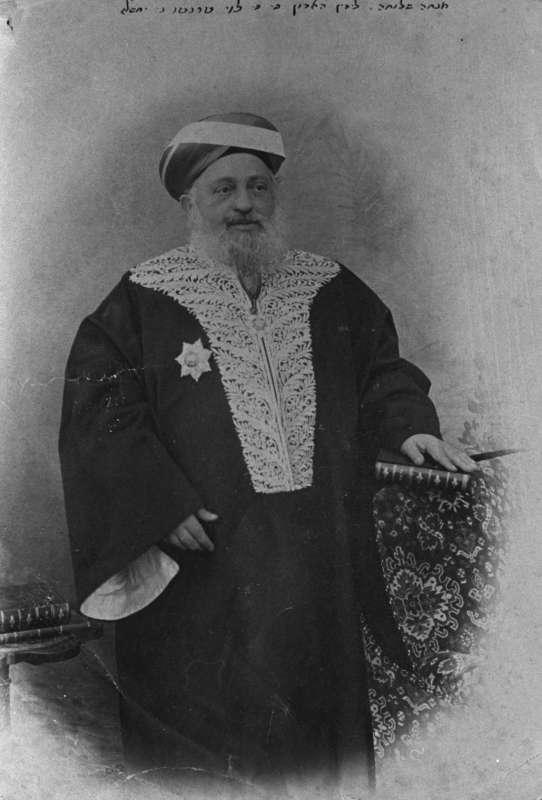 ר' יעקב מאיר בלבוש השרד שלו