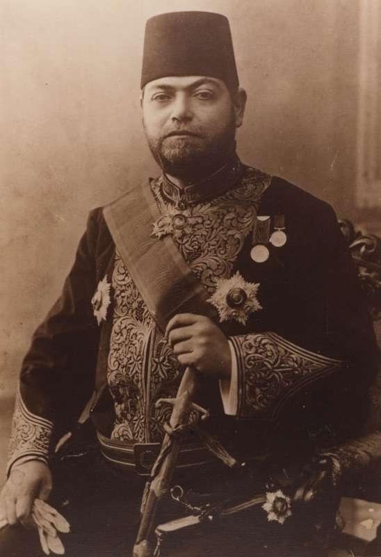 Aslan Abraham Fresco in official costume