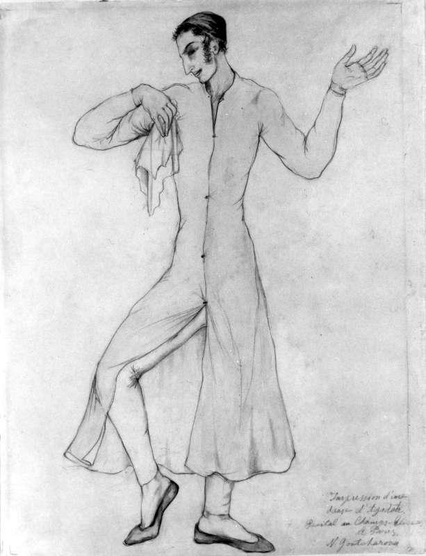 Baruch Agadati Dancing