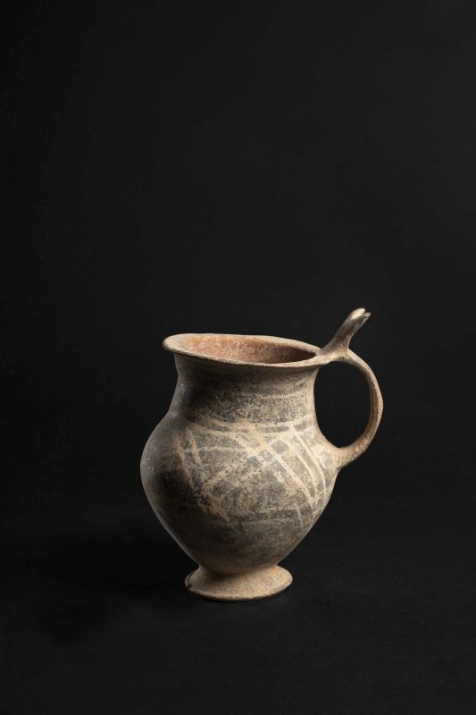 Painted jug from Cyprus