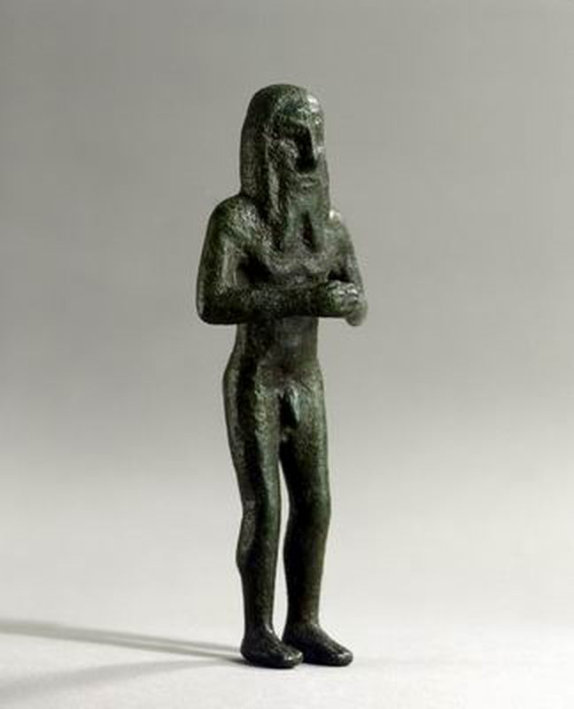 Figurine of a Sumerian in worship posture