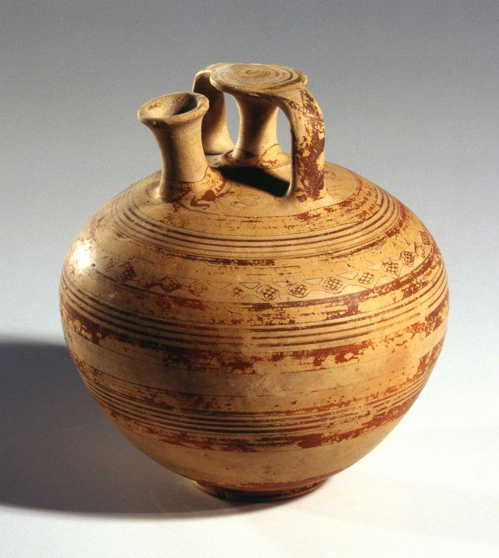 Stirrup jar from Greece