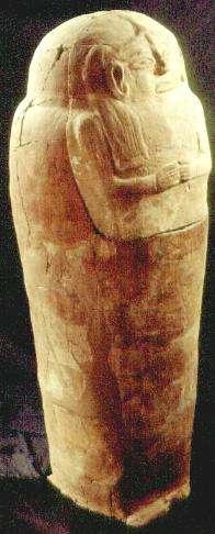 Anthropoid coffin