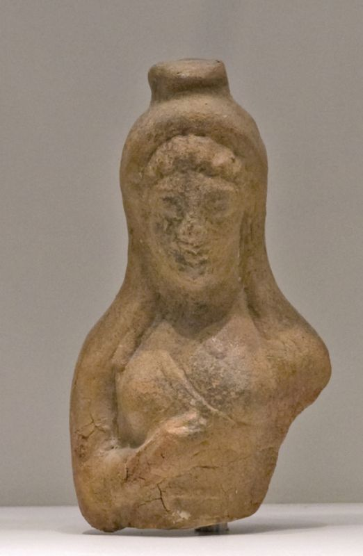 Upper part of a Phrygian figurine