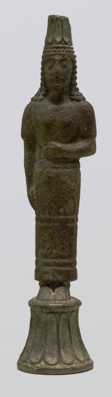 Figurine of a standing goddess, probably Cybele