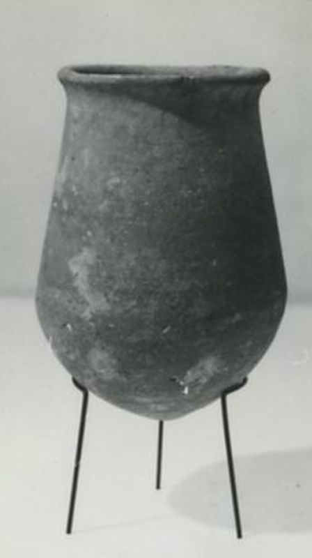 Egyptian-style drop-shaped vessel
