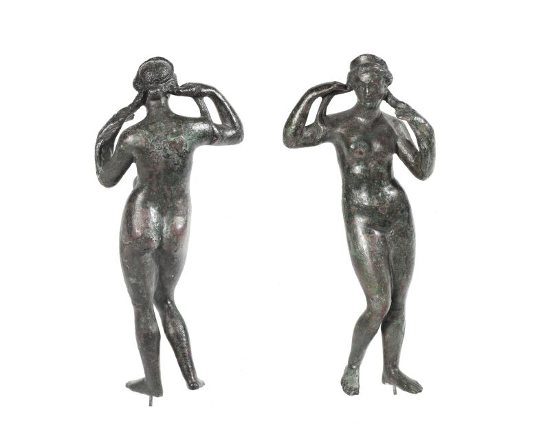 Figurine of Aphrodite Rising from the Sea (Aphrodite <i>Anadyomene</i>)
