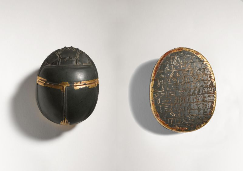 Heart Scarab bearing a standard spell requesting the heart not to testify against its owner during the weighing of the heart ceremony