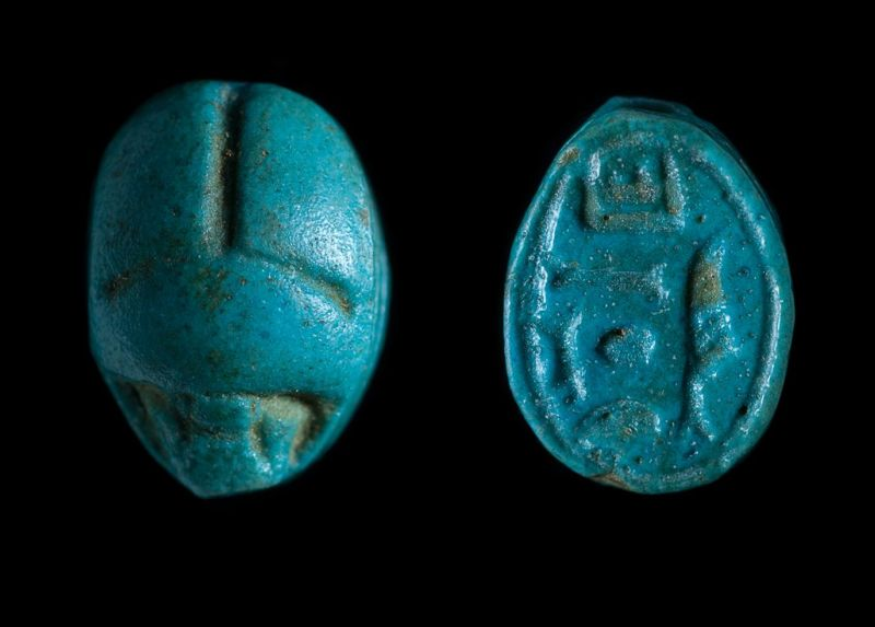 Scarab bearing the name of the god Amun-Re