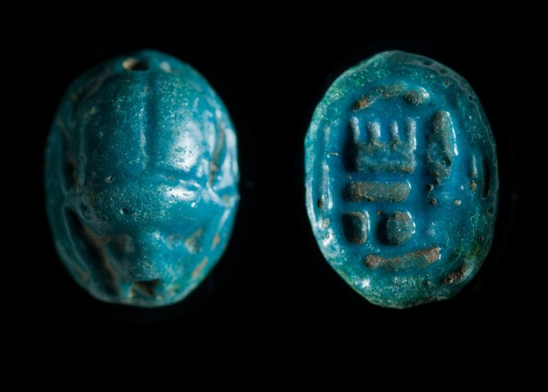 Scarab depicting the name of the god Amun-Re