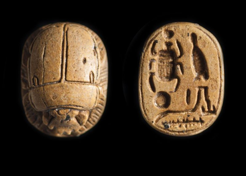 Royal-name scarab of Sheshonq I
