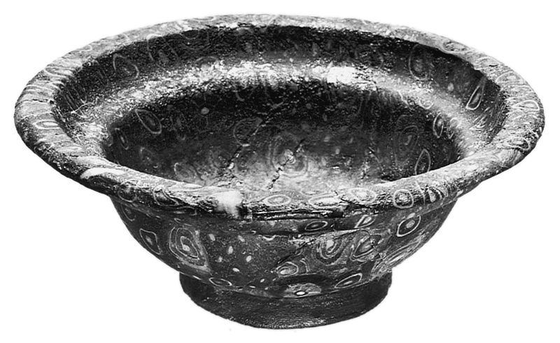 Mosaic-glass bowl