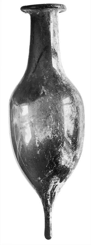 Bottle preserving the basic bubble shape