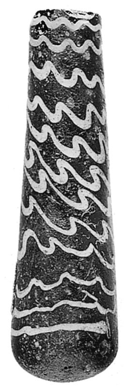 Small container for <i>kohl</i> (eye makeup)