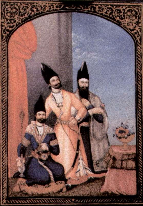 Three Qajar Princes