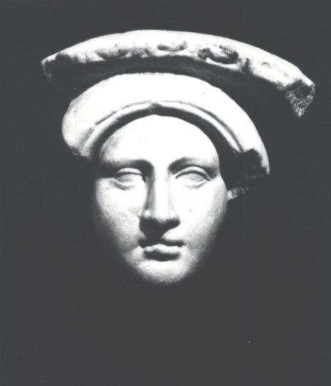 דיוקן אישה, שבר של טונדו (מדליון)