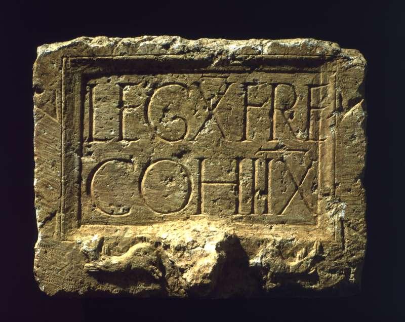 כתובת של הקוהורטה השמינית של הלגיון העשירי
