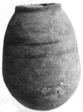 Egyptian-style globular jar
