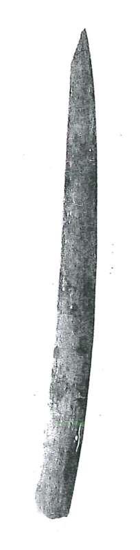 Pointed spatula
