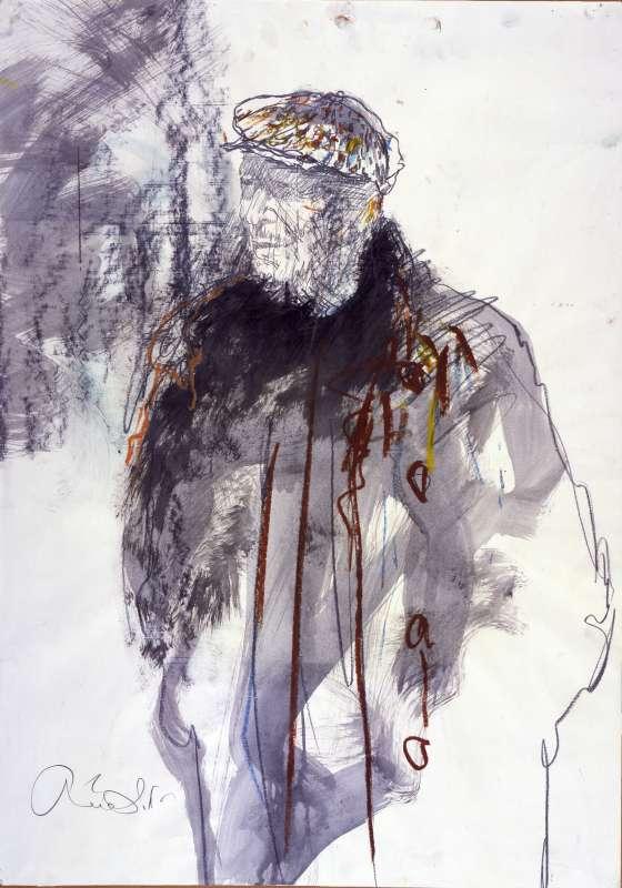 דיוקן יוסף זריצקי