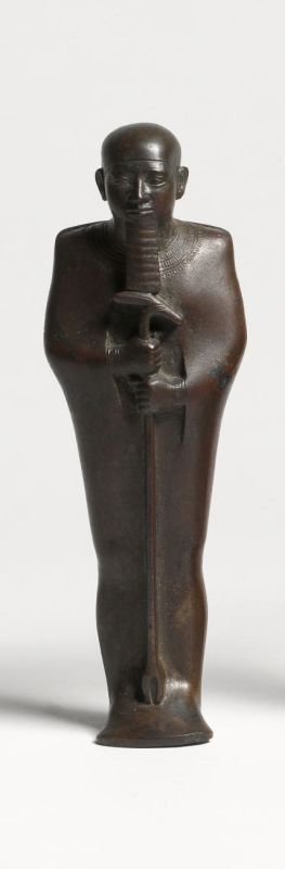 Statuette of Ptah, god of the capital Memphis and patron of artisans