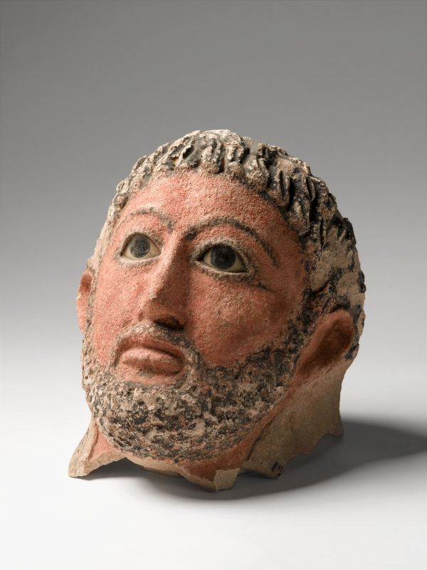 Funerary mask of a man