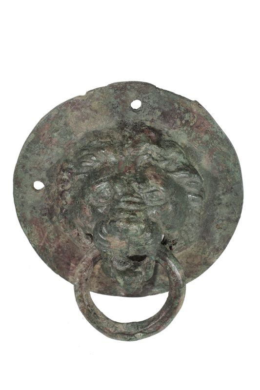 Lion-shaped handle
