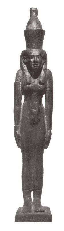 Statuette of Mut, wife of Amun-Re, god of Thebes