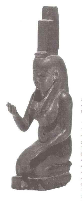 צלמית של איזיס האבלה, אחד מצמד המתאר את האלה ואחותה, נפטיס