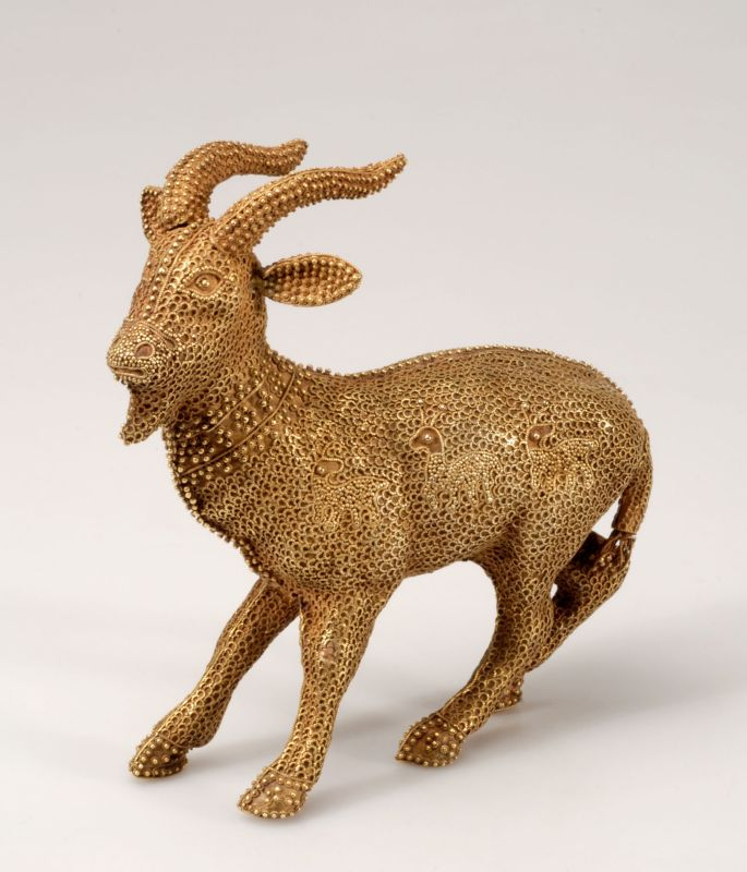 Statuette of a goat